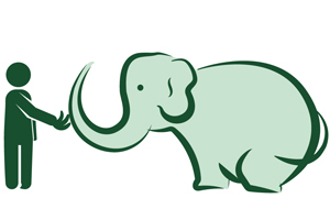 Feeding Elephants Logo