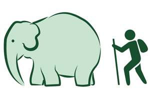 Walk with Elephants Logo